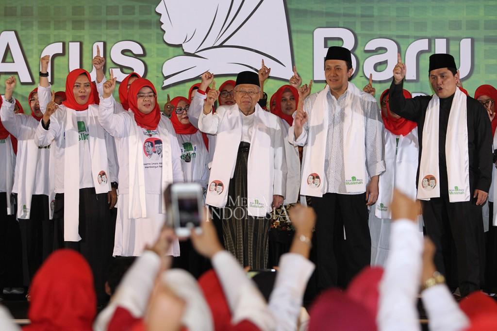 Arus Baru Muslimah Dukung Jokowi-Ma'ruf
