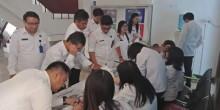 Puluhan Anggota BNNP Sulut Menjalani Tes Urine Dadakan