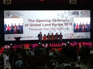 84 Negara Hadir di Global Land Forum Bandung