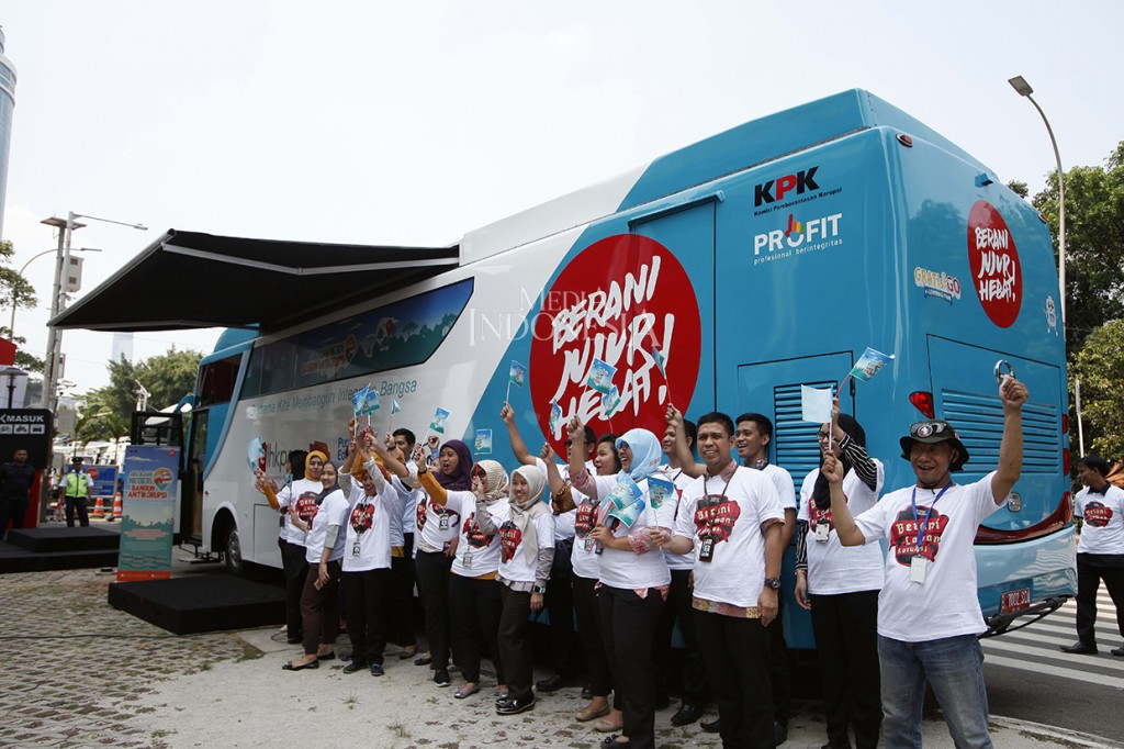 KPK Luncurkan Bus Jelajah Negeri Bangun Antikorupsi