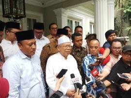 Ma'ruf Amin Siap Ikut Ketentuan KPU Soal Debat