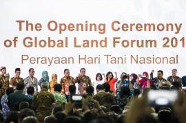 Sebanyak 84 Negara Hadiri Global Land Forum di Bandung