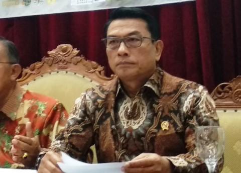 Kepala Staf Kepresidenan Moeldoko-Medcom.id/Roni