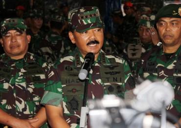 Panglima TNI Merotasi 116 Perwira
