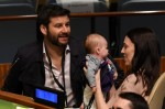 PM Selandia Baru Bawa Bayi ke Sidang Umum PBB