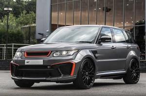Trik Kahn Design Percantik Range Rover Sport SVR