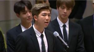 BTS Beri Pidato Inspiratif dalam Sidang PBB