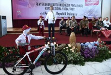 Jokowi Setop Kuis Berhadiah Sepeda