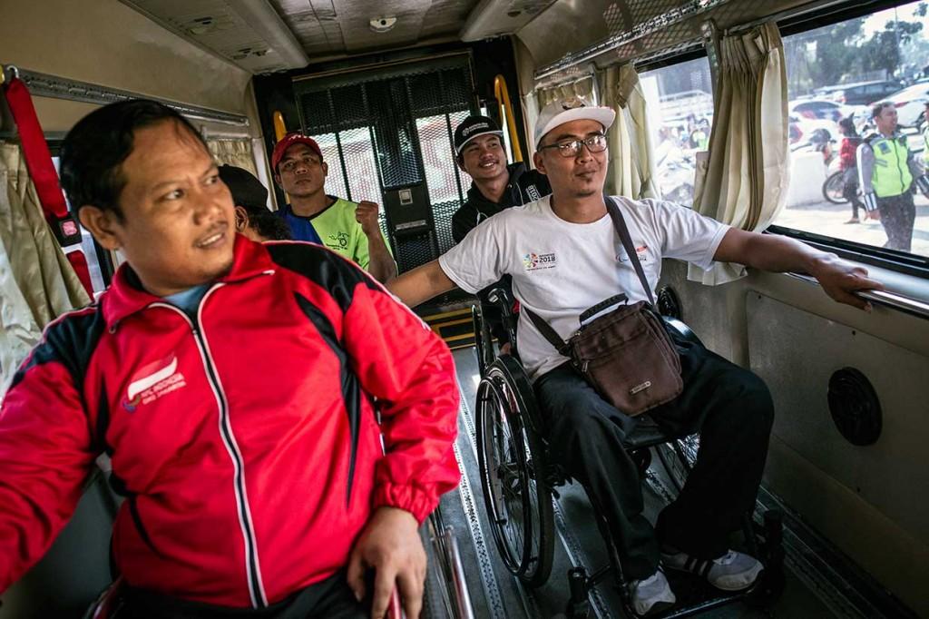 Simulasi Transportasi Asian Para Games Digelar