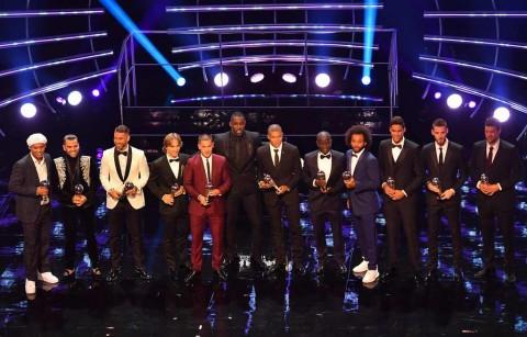 Courtois tidak Masuk Starting XI FIFA 2018