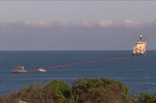 Bagian Pertama Kabel Laut INDIGO Selesai Digelar