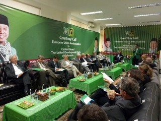 21 Delegasi Uni Eropa Menyambangi PPP