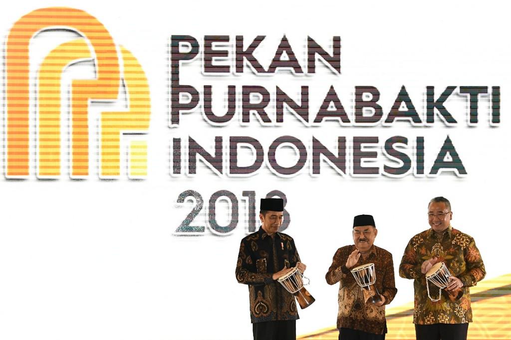 Jokowi Buka Pekan Purnabakti Indonesia 2018