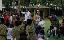 Alasan Jokowi Setop Bagi Sepeda