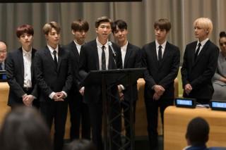 Pidato di Sidang PBB, BTS Ajak Anak Muda Cintai Diri Sendiri