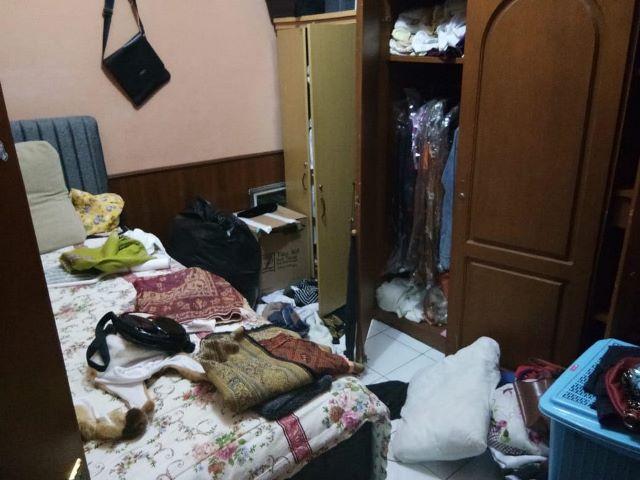 Perampok menyasar rumah Raditya Pramana, 43, di perumahan Serpong Terace, Kelurahan Buaran, Tangerang Selatan, Banten, Selasa, 25 September 2018. Medcom.id/ Farhan Dwitama.