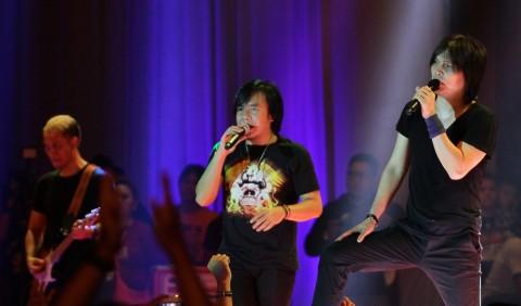 Dua Vokalis Dewa 19 akan Reuni di Synchronize Festival 2018