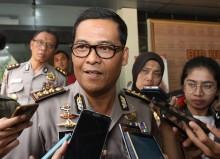 Penerobos Rombongan Presiden Menyerempet Petugas Patwal
