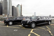 Cadillac One Siap jadi Mobil Kepresidenan Donald Trump