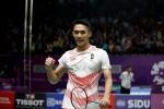 Jonatan Christie Belum Terbendung di Korea Open 2018
