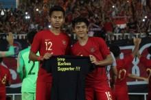 Kampanye Setop Kekerasan di PSSI 88th U19 International Tournament