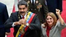 AS Jatuhkan Sanksi pada Ibu Negara Venezuela