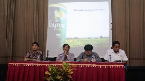 seminar nasional perubahan iklim dengan tema Climate Change :