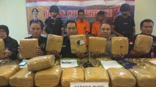 Penyidik Direktorar Reserse Narkoba Polda Sumatera Barat
