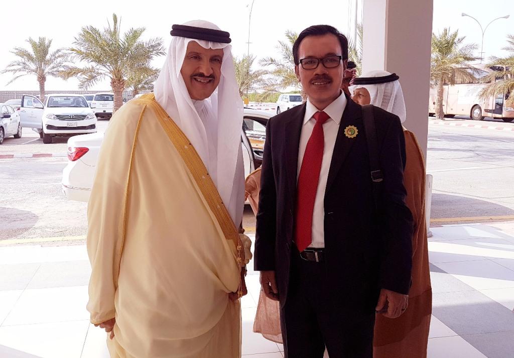 undangan tersebut juga sebagai bukti eratnya hubungan Indonesia dan Arab Saudi selama 68 tahun ini. (Foto: Dok. KBRI Riyadh).