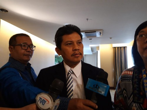 Plt. Rektor Universitas Trisakti, Medcom.id/Intan Yunelia.