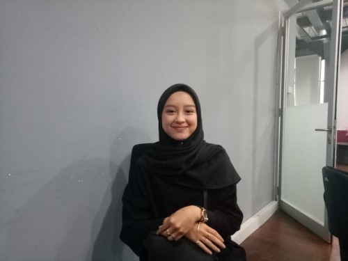 Gita Savitri Devi, Influencer muda Indonesia saat berkunjung ke