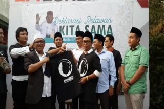Ikhtiar 'Kecil' Santri di Malang untuk Jokowi-Ma'ruf Amin