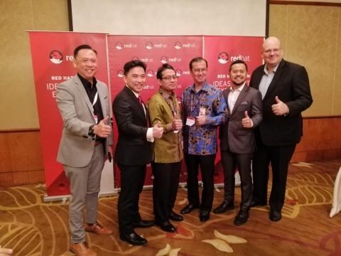 BRI Jadi Pemenang Red Hat Innovation Awards