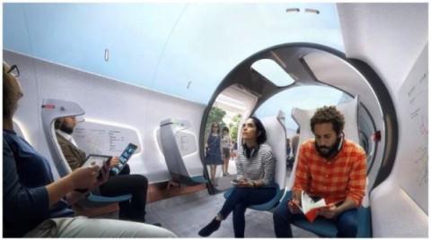 Hyperloop, Stasiun 'KA' dengan Cadangan Energi