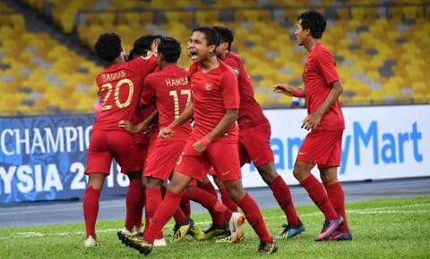 Timnas U-16 Lolos ke Perempat Final dengan Status Juara Grup
