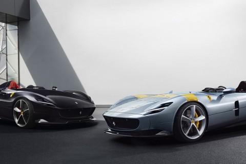 Ferrari Monza SP1 & SP2, Supercar Modern Rasa Klasik