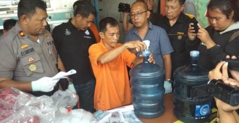 Pengoplos Isi Ulang di Tangerang Gunakan Air Sumur