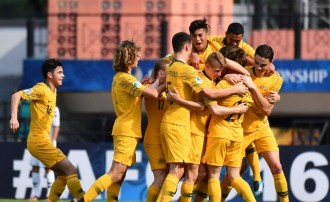 Piala Asia U-16: Bantai Afghanistan, Australia Jumpa Indonesia