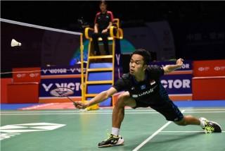 Tersingkir, Anthony Ginting Gagal Ciptakan <i>All Indonesian Final</i>