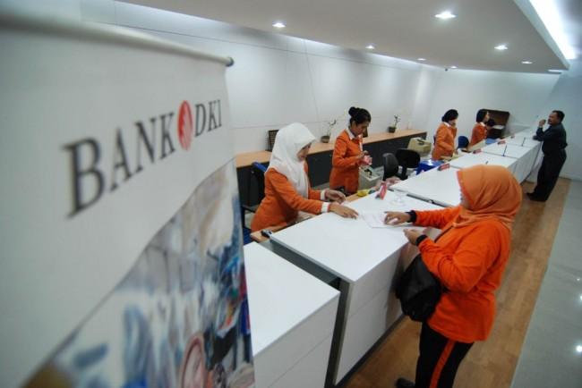 Ilustrasi Bank DKI. FOTO: MI/Tri Handiyatno