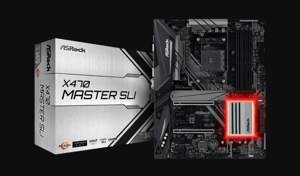 ASRock X470 Master SLI.