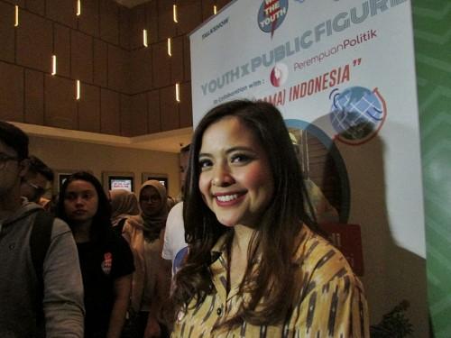 Tasya Kamila (Foto: Medcom/Cecylia)