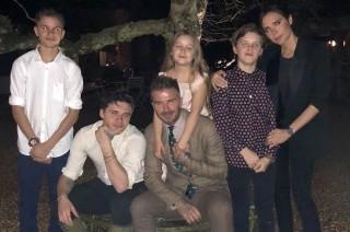 Trik Mendidik Anak Ala Victoria dan David Beckham
