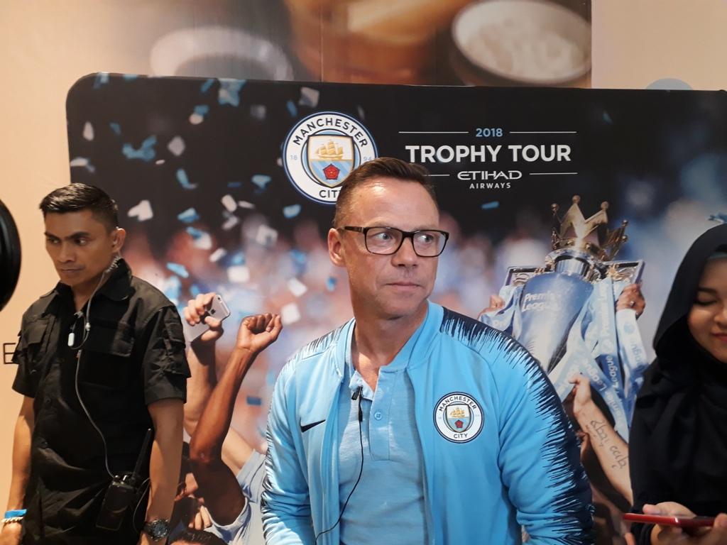 Legenda Manchester City, Paul Dickov (Foto: Patrick/Medcom.id)