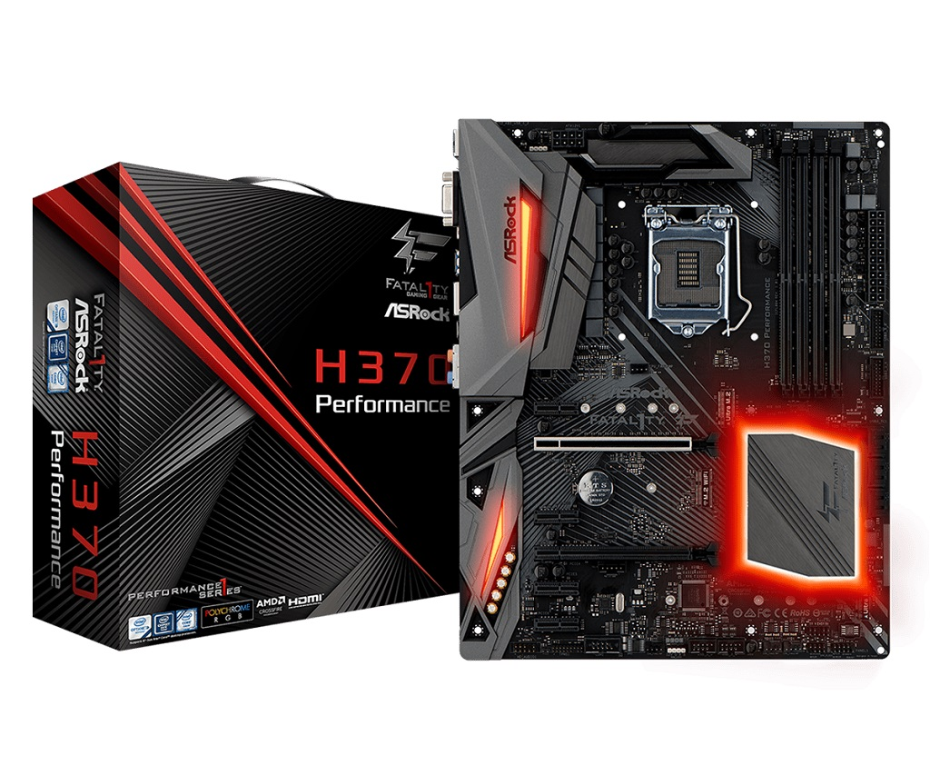 ASRock H370 Fatal1ty Performance.