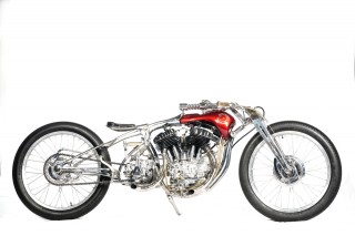 Tosan Adji, Si Harley-Davidson WL 1947 Berkonsep <i>Road Tracker</i>