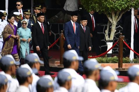 Jokowi Pimpin Upacara Peringatan Hari Kesaktian Pancasila