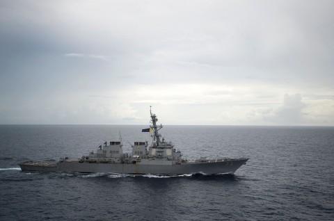 Kapal AS kembali Berlayar Dekat Laut China Selatan