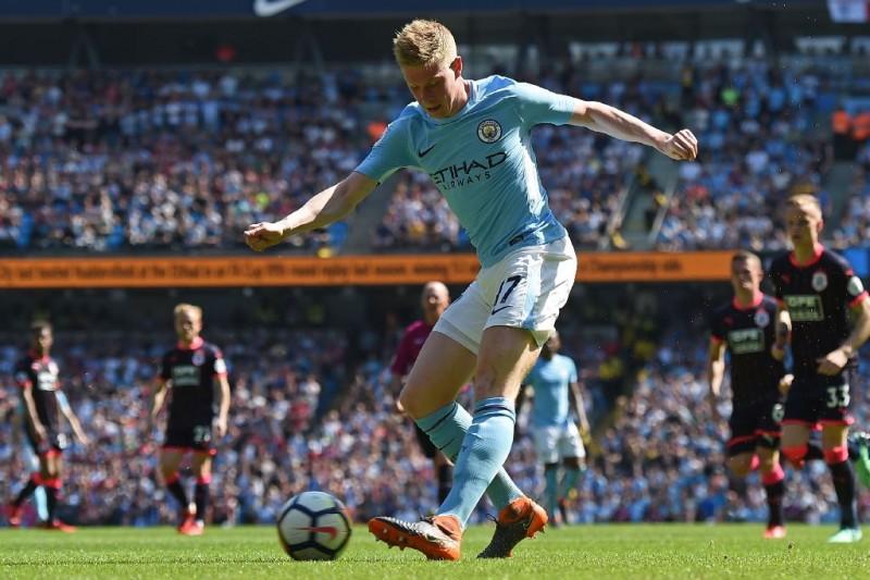 Gelandang Manchester City, Kevin De Bruyne (AFP/Paul Ellis)