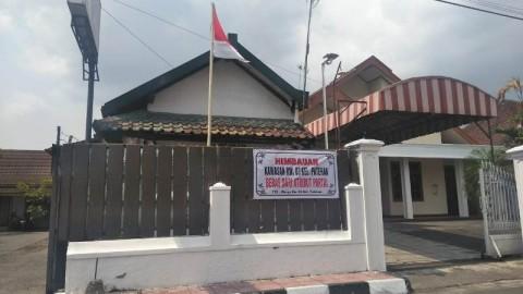 Suasana Kampung Patehan RW 3 di Kota Yogyakarta yang menyatakan